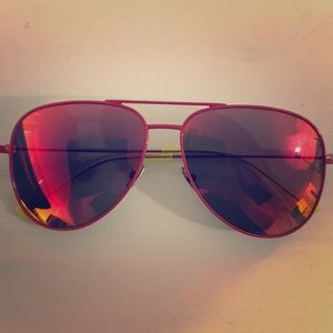 Yves Sant laurent surf red sunglasses